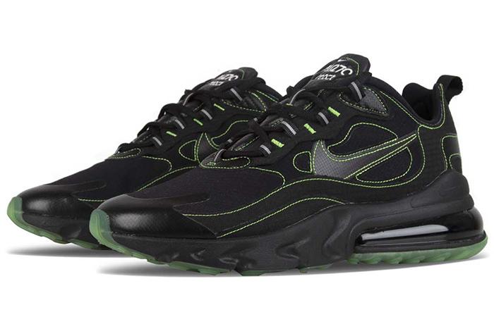 Nike Air Max 270 React SP Black CQ6549-001 02