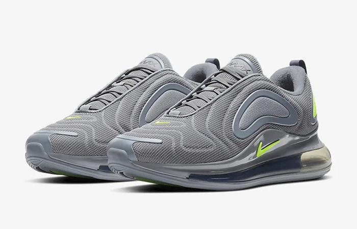 Nike Air Max 720 Grey Volt CT2204-001 02