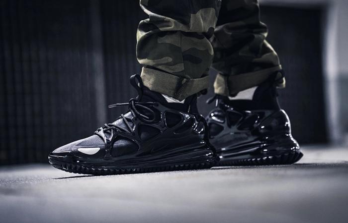 Nike Air Max 720 Horizon Core Black BQ5808-002 on foot 02