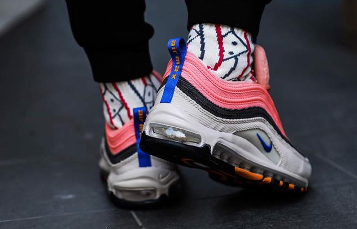 Nike Air Max 97 Corduroy Pack Soft Pink CQ7512-046 on foot 03