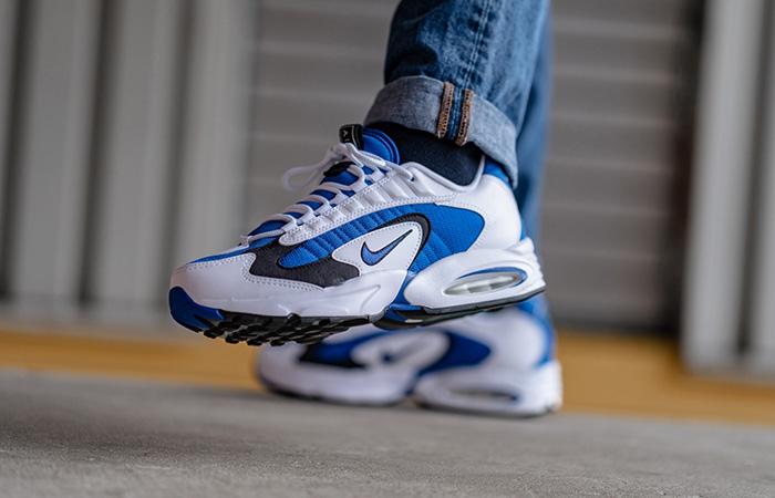 Nike Air Max Triax 96 Blue Royal CD2053-106 on foot 01
