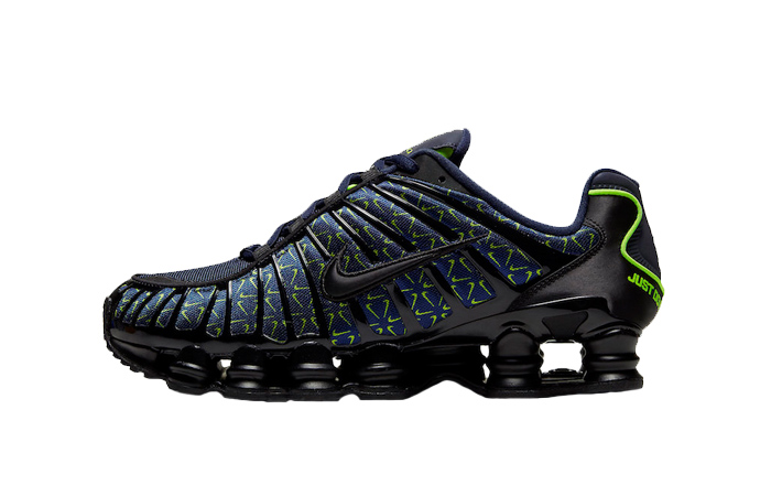 Nike Shox TL Min Swoosh Black Navy CT5527-400 01