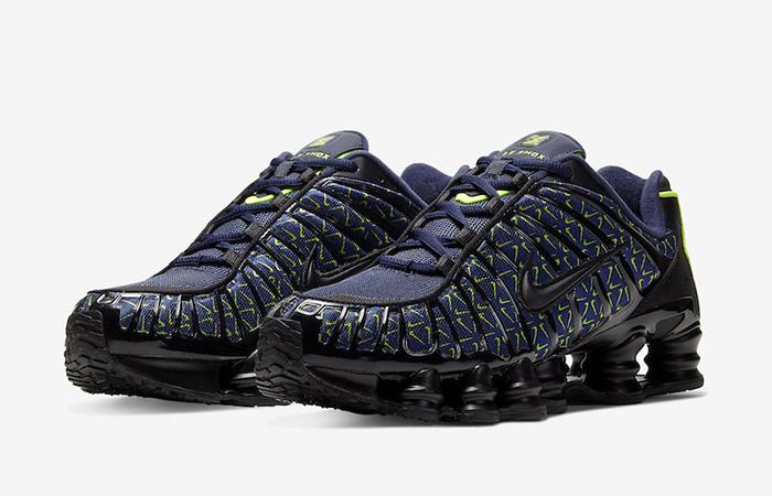 Nike Shox TL Min Swoosh Black Navy CT5527-400 02