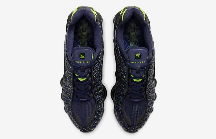 Nike Shox TL Min Swoosh Black Navy CT5527-400 04