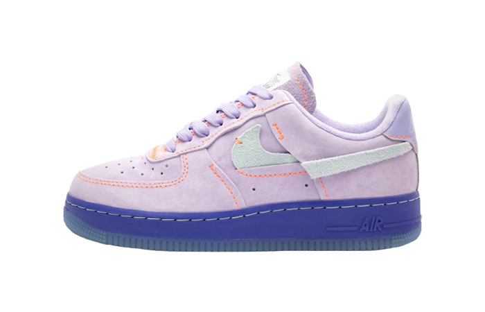 Nike Womens Air Force 1 07 LX Purple Agate CT7358-500 01