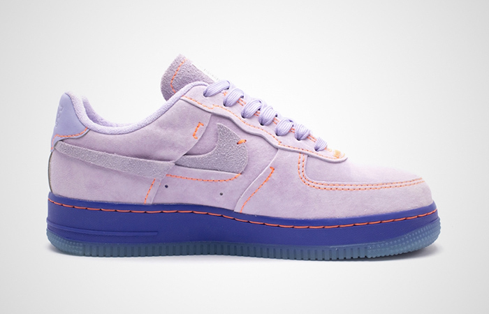 Nike Womens Air Force 1 07 LX Purple Agate CT7358-500 03