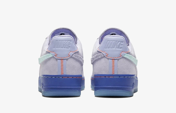 Nike Womens Air Force 1 07 LX Purple Agate CT7358-500 05