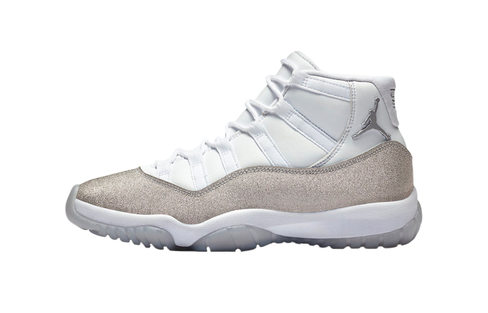 Nike Womens Air Jordan 11 Metalic Silver AR0715-100 01