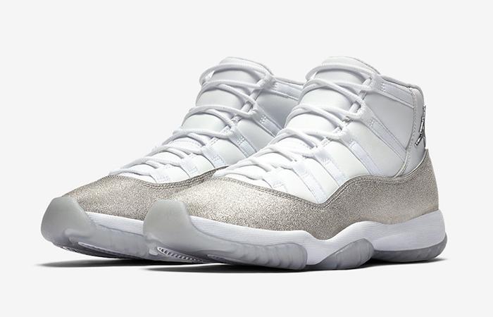 Nike Womens Air Jordan 11 Metalic Silver AR0715-100 02