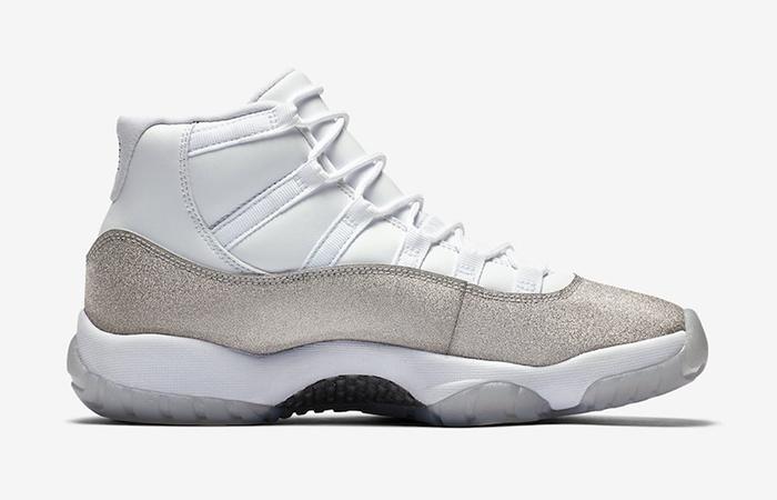 Nike Womens Air Jordan 11 Metalic Silver AR0715-100 03