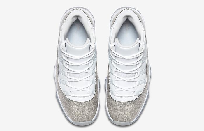 Nike Womens Air Jordan 11 Metalic Silver AR0715-100 04