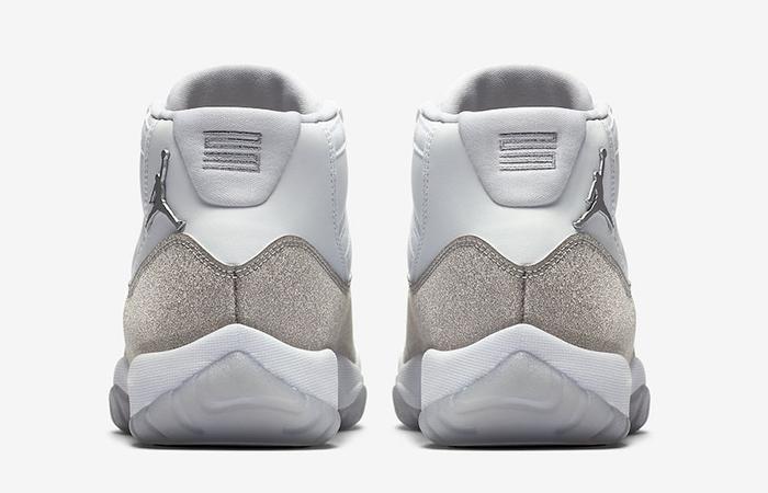 Nike Womens Air Jordan 11 Metalic Silver AR0715-100 05