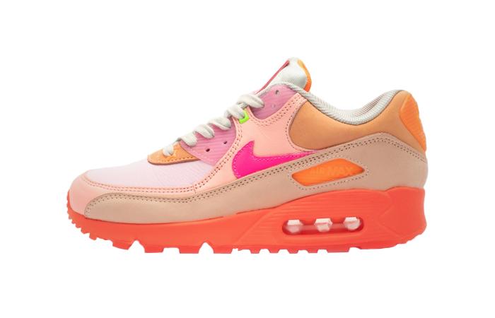 Nike Womens Air Max 90 Pink Shade CT3449-600 01