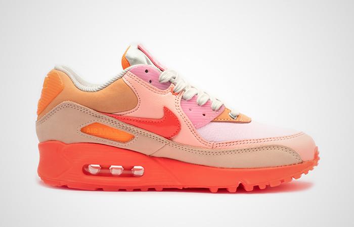 Nike Womens Air Max 90 Pink Shade CT3449-600 03