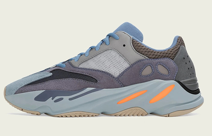 Official Look At The Adidas Yeezy Boost 700 'Carbon Blue' ft