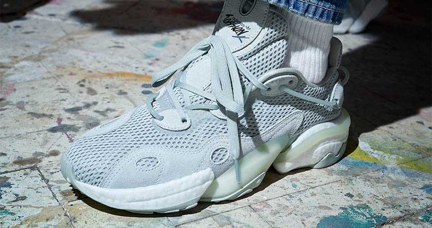 On Foot Look At The adidas Torsion X Ash Silver 01