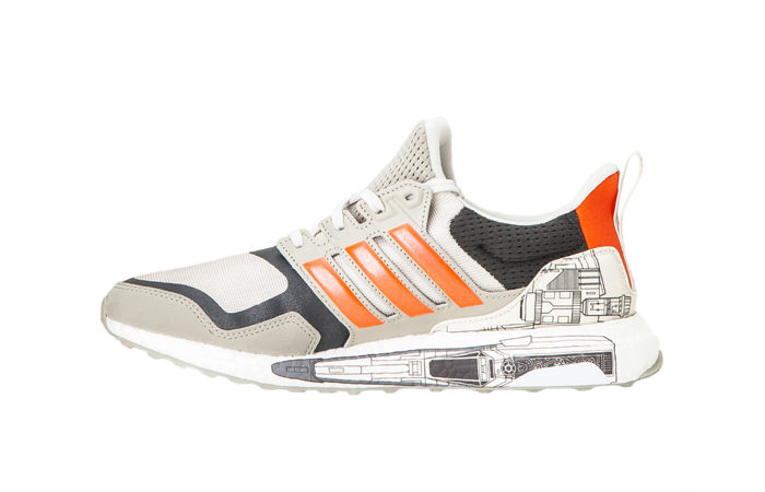 Star Wars adidas Ultra Boost 19 Active Orange FW0536 01