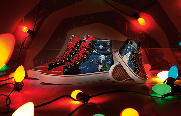 The Nightmare Before Christmas And Vans To Release New Sk8-Hi Christmas Town ft