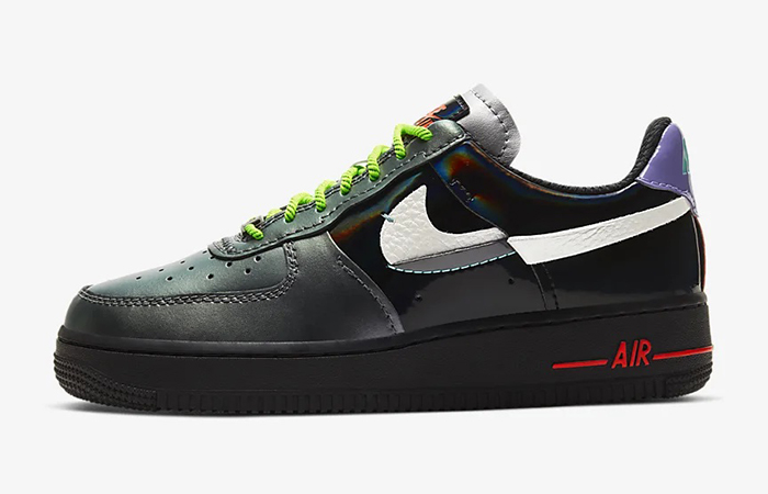 The Nike Air Force 1 07 LX Metallic Silver Is A Must Cop For This Winter! ft