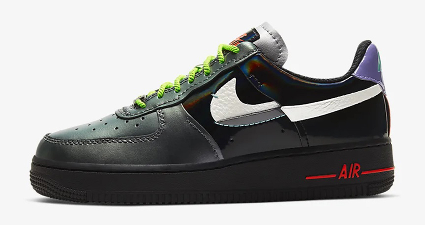 The Nike Air Force 1 07 LX Metallic Silver Is A Must Cop For This Winter!