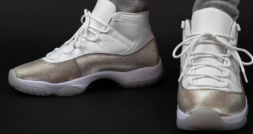 The Nike Air Jordan 11 Metallic Silver Releasing End Of The November 01