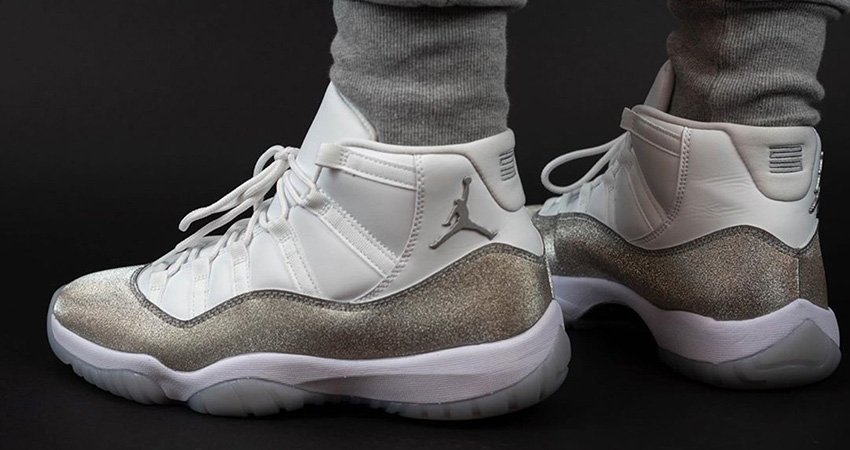 The Nike Air Jordan 11 Metallic Silver Releasing End Of The November 02