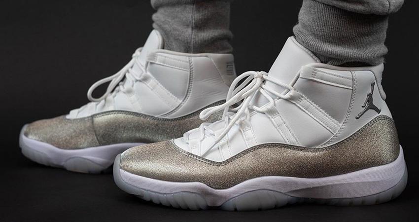 The Nike Air Jordan 11 Metallic Silver Releasing End Of The November