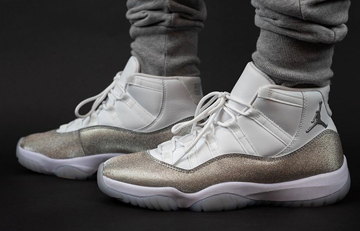 The Nike Air Jordan 11 Metallic Silver Releasing End Of The November ft