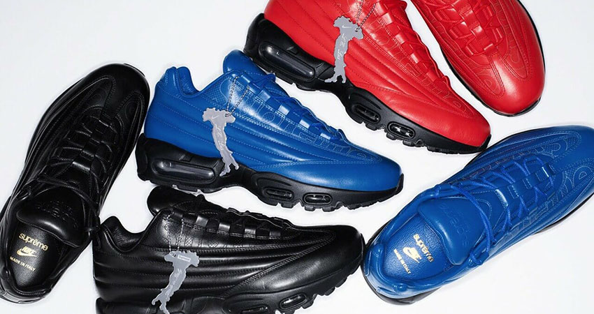 The Supreme Nike Air Max 95 Lux Release Date Is So Closer!