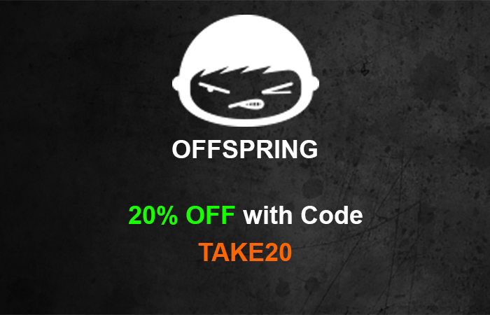 Use Code TAKE20 And Get 20% Off For BLACK FRIDAY At Offspring!! ft