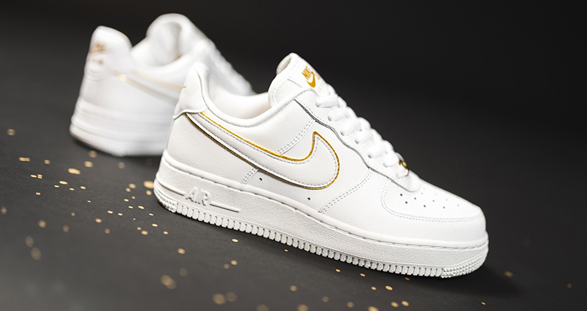 You Can Not Deny The Beauty Of Nike Air Force 1 Essential Gold Pack Has! 01