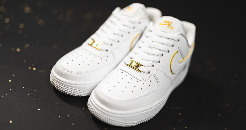 You Can Not Deny The Beauty Of Nike Air Force 1 Essential Gold Pack Has! 02