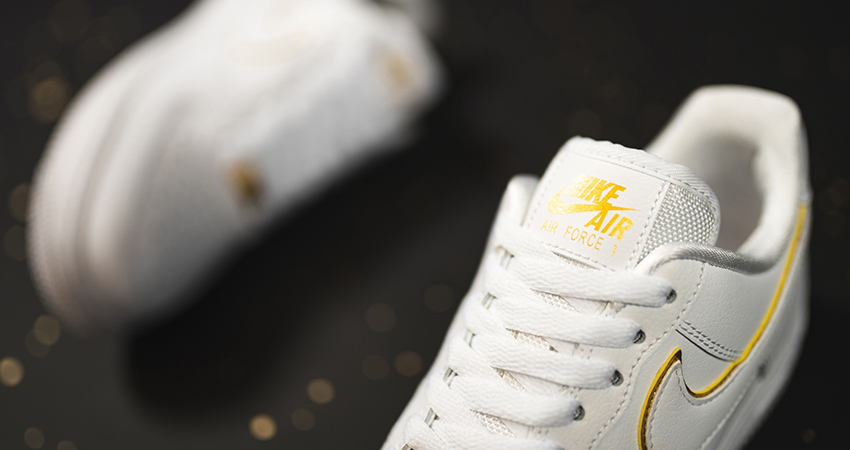 You Can Not Deny The Beauty Of Nike Air Force 1 Essential Gold Pack Has! 03
