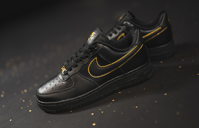 You Can Not Deny The Beauty Of Nike Air Force 1 Essential Gold Pack Has! ft