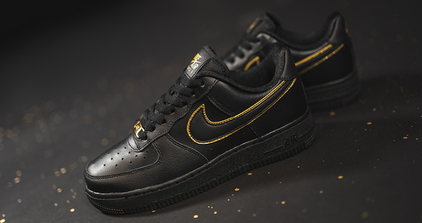 You Can Not Deny The Beauty Of Nike Air Force 1 Essential Gold Pack Has!