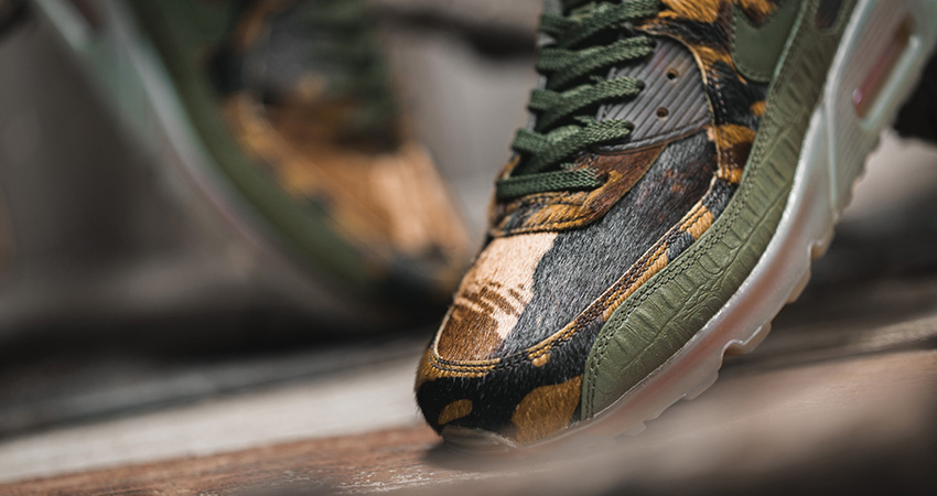Your Best Look At The Nike Air Max 90 Camo Khaki 01