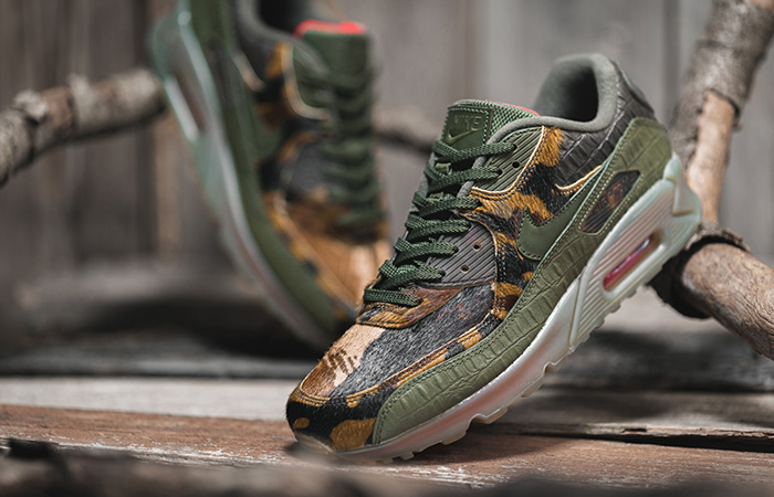 Your Best Look At The Nike Air Max 90 Camo Khaki ft