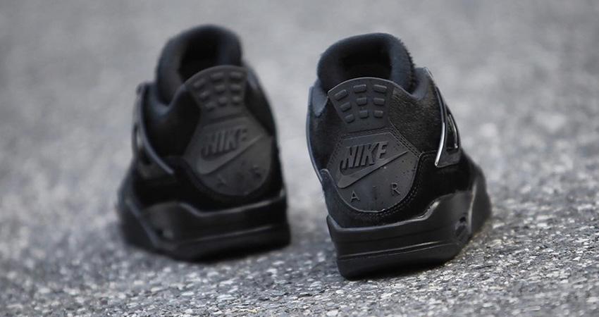 Your Best Look Yet At The Olivia Kim Nike Womens Air Jordan 4 Black 03