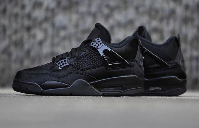 Your Best Look Yet At The Olivia Kim Nike Womens Air Jordan 4 Black ft