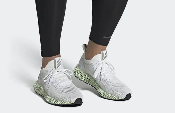 adidas Alphaedge 4D Parley White Mint