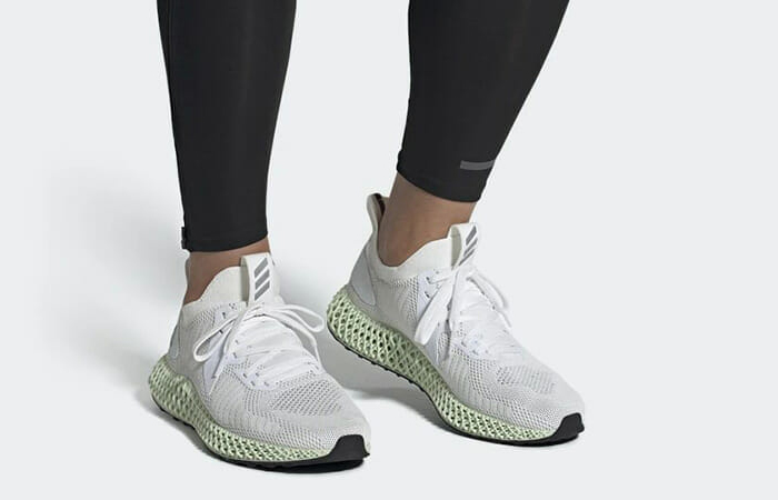 adidas Alphaedge 4D Parley White Mint FV4687 on foot 01