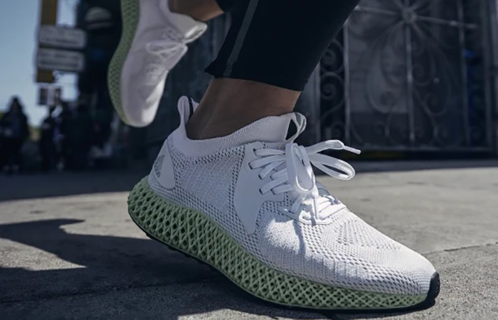 adidas Alphaedge 4D Parley White Mint FV4687 on foot 03