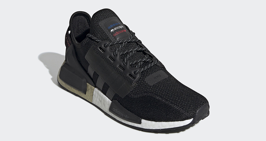 adidas NMD R1 V2 Celebrates The End Of Year With The Black Metallic Gold 01