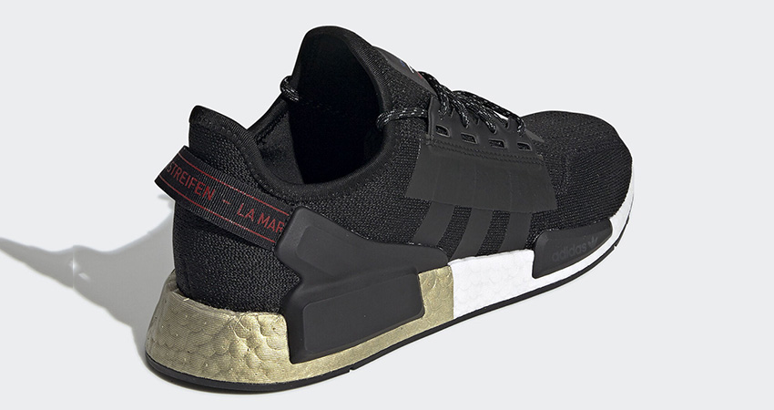 adidas NMD R1 V2 Celebrates The End Of Year With The Black Metallic Gold 03