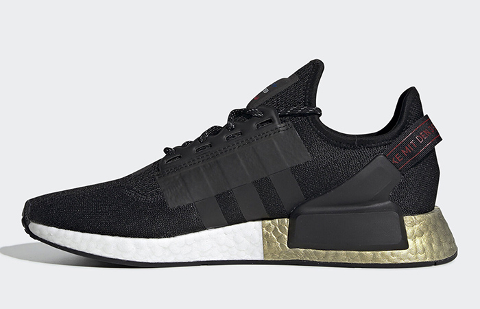 adidas NMD R1 V2 Celebrates The End Of Year With The Black Metallic Gold ft