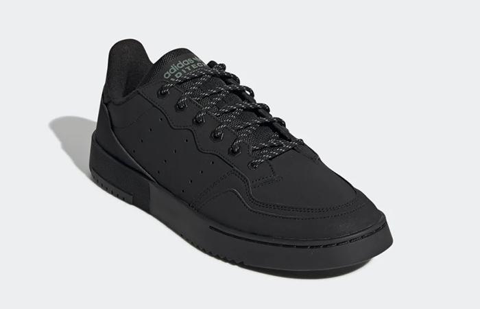 adidas Supercourt Core Black FV4658 02