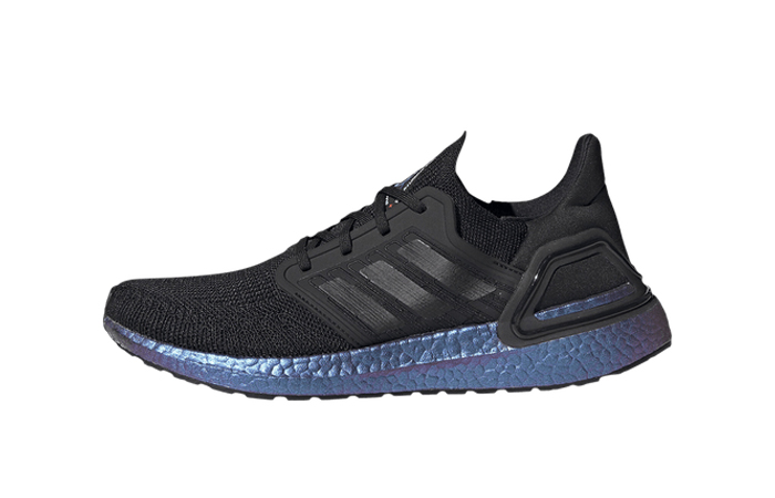 adidas UltraBOOST 20 Space Race Execution Black EG1341 ...