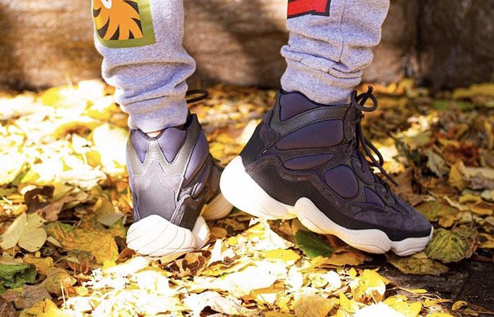 adidas Yeezy 500 High Slate FW4968 on foot 03