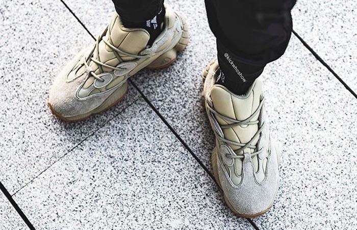 adidas Yeezy Boost 500 Stone FW4839 on foot 02