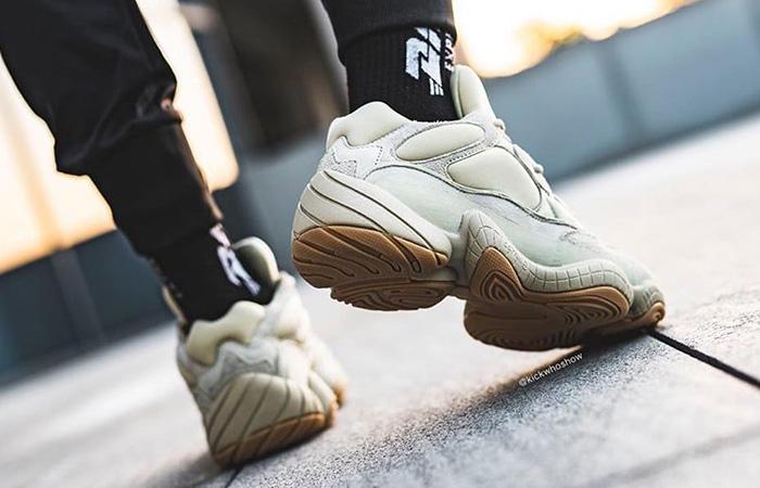 adidas Yeezy Boost 500 Stone FW4839 on foot 03